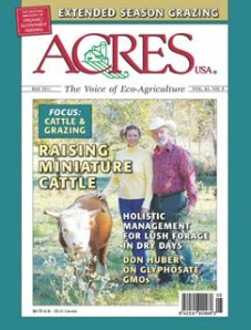 Acres USA May 2011 cover