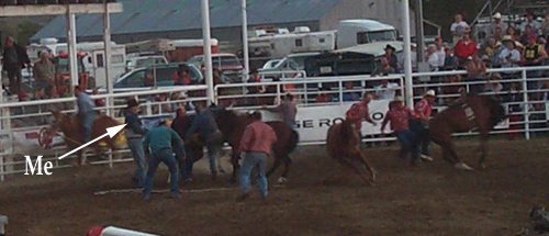 Gary in the Wild Horse Race