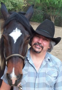 This is me with my gelding, Stepper, back when we were both a little less gray and a little more spry.