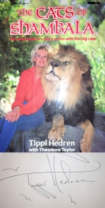 Tippi Hedren signature