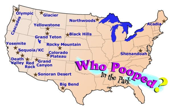Who Pooped Map 2013