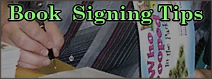 Book Signing Tips