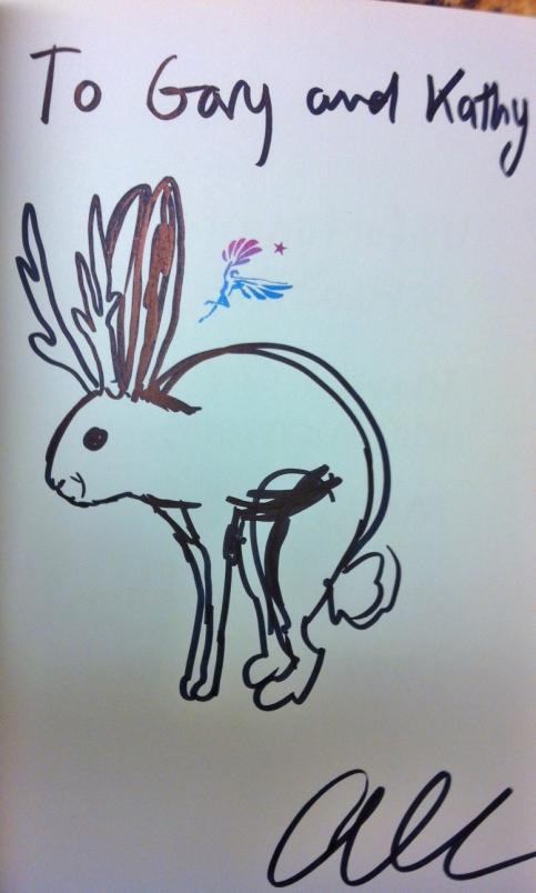 A jackalope by Allie Brosh