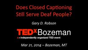 TEDx Cover Slide