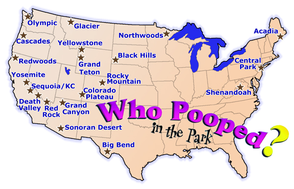 Who Pooped Map 2015