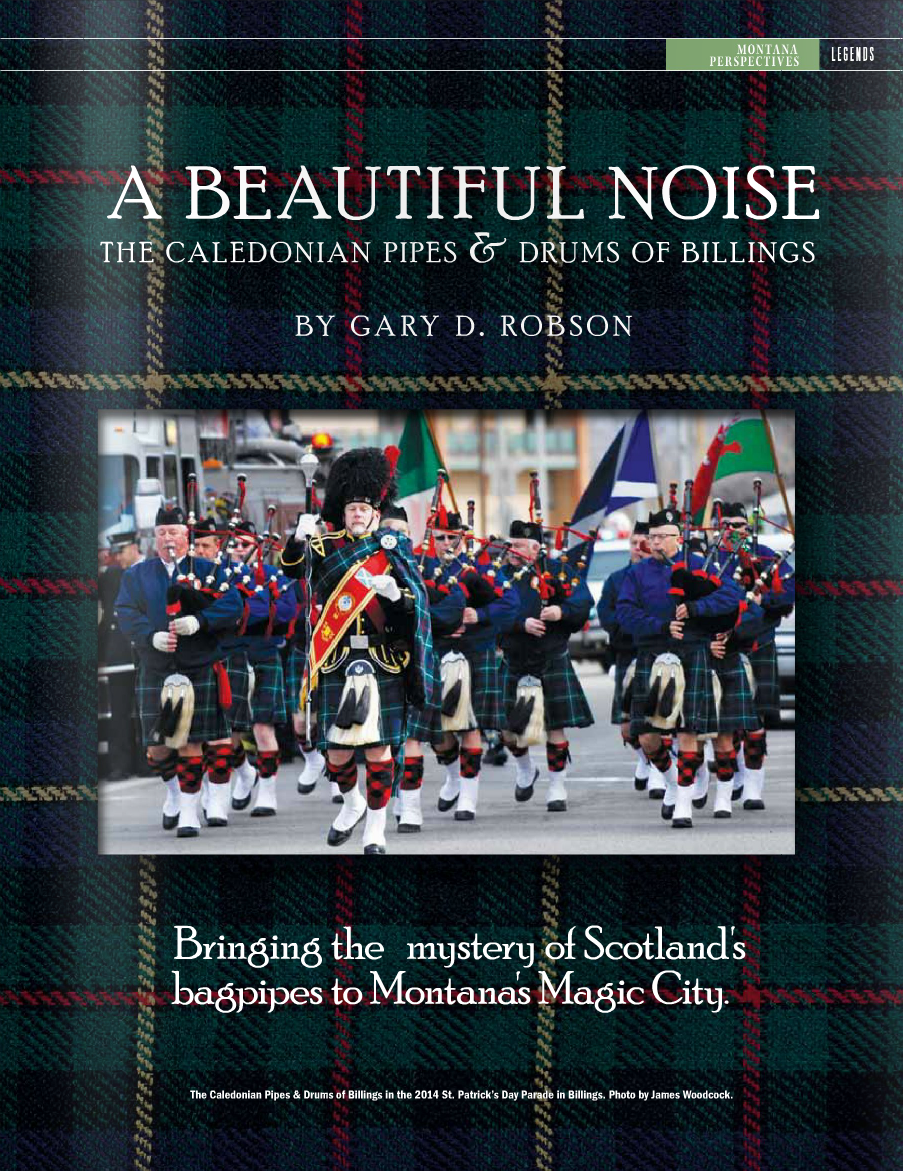 The Billings Caledonian Pipes And Drums  U2013 Bagpipes In