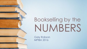 Bookselling by the Numbers title slide